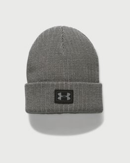 Čepice Under Armour Boy's Truck Stop Beanie Šedá