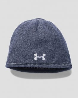 Čepice Under Armour Coldgear Men's Fleece Beanie Update Šedá