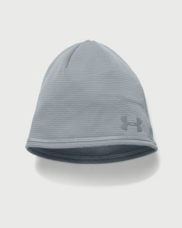 Čepice Under Armour Coldgear Men's T400 Run Beanie Šedá