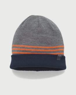 Čepice Under Armour Men's 4-In-1 Beanie 2.0 Šedá