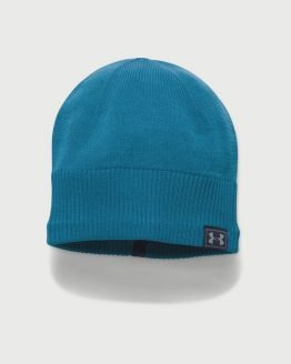 Čepice Under Armour Men's Reactor Knit Beanie Modrá