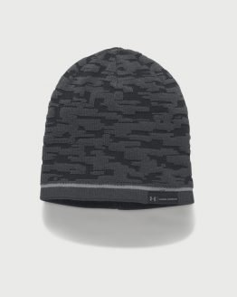Čepice Under Armour Men's Rev Graphic Beanie Černá