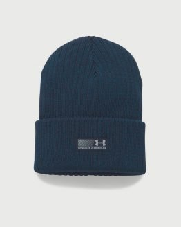 Čepice Under Armour Men's Truck Stop Beanie Modrá