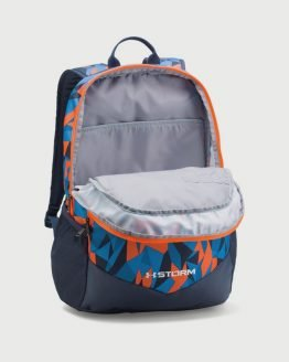 Batoh Under Armour Boys Scrimmage Backpack Modrá