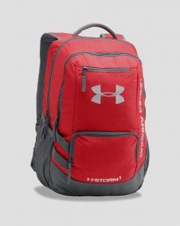 Batoh Under Armour Hustle Backpack II Červená