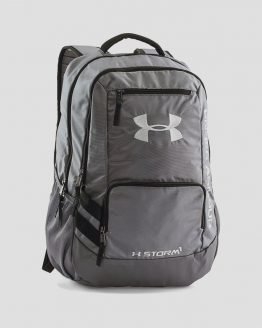 Batoh Under Armour Hustle Backpack II Šedá