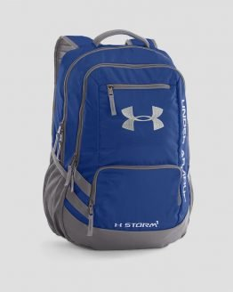 Batoh Under Armour Hustle Backpack II Modrá