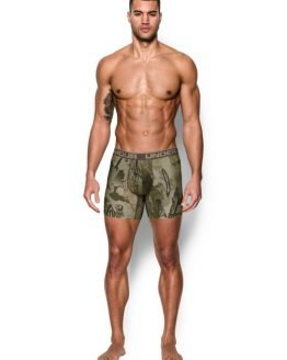 Boxerky Under Armour Camo BoxerJock 2.0 - 6in Barevná