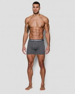 Boxerky Under Armour Iso Chill 6'' Boxerjock Šedá
