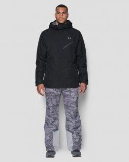 Bunda Under Armour Coldgear $200 Snow Shell Jacket Černá