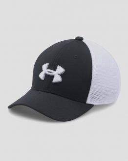Kšiltovka Under Armour Boy's Classic Mesh Golf Cap Černá