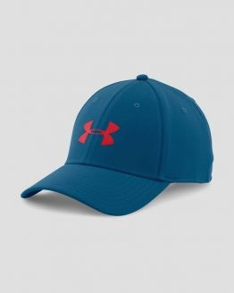 Kšiltovka Under Armour Heatgear Headline Stretch Fit Cap Modrá