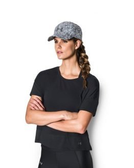 Kšiltovka Under Armour Printed Renegade Cap Šedá