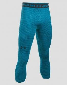 Kompresní legíny Under Armour Heatgear 3/4 Print Legging Modrá