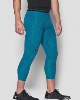 Kompresní legíny Under Armour Heatgear 3/4 Print Legging Modrá