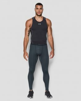 Kompresní legíny Under Armour Heatgear Coolswitch Legging Šedá
