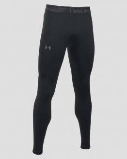 Kompresní legíny Under Armour Threadborne Run CGI Tight Černá