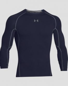 Kompresní tričko Under Armour HG LS Modrá