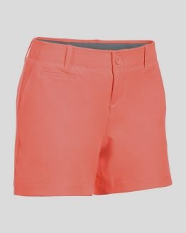 Kraťasy Under Armour Links Shorty 4in Oranžová