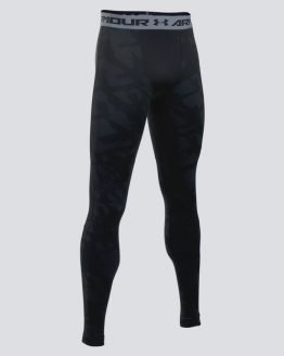 Legíny Under Armour Coldgear Jacquard Legging Barevná