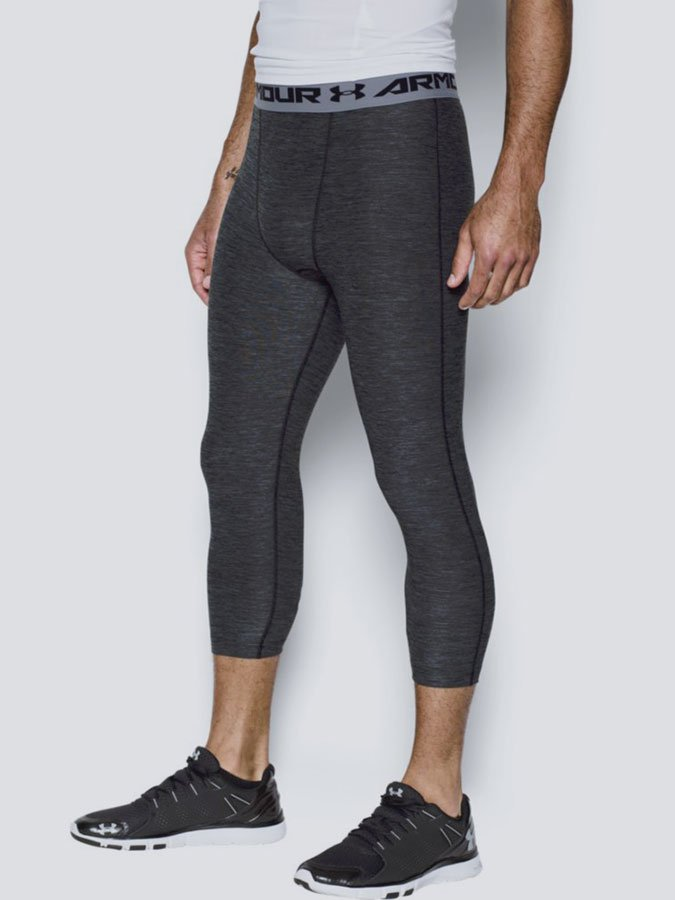 Legíny Under Armour Heatgear Twist 3 4 Legging Černá 40b84caec64