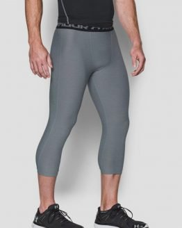 Legíny Under Armour Heatgear Twist 3/4 Legging Šedá