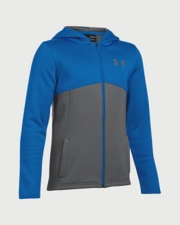 Mikina Under Armour AF Full Zip Hoody Modrá