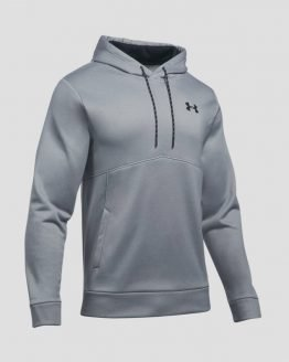 Mikina Under Armour AF Icon Solid PO Hood Šedá