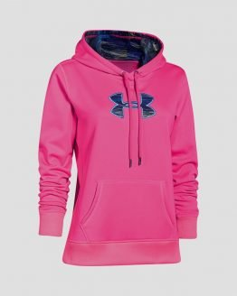 Mikina Under Armour Af Big Logo Hoody Printed Fill Barevná