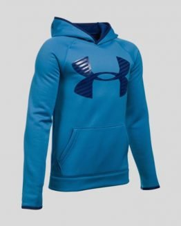 Mikina Under Armour Coldgear AF Storm Highlight Hoody Modrá