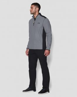 Mikina Under Armour Coldgear The CGI Fleece 1/4 Zip Šedá