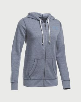 Mikina Under Armour Favorite Fleece FZ Šedá