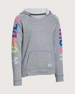 Mikina Under Armour Favorite Fleece Hoody Šedá