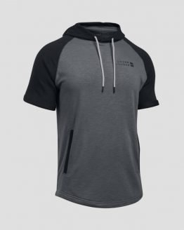 Mikina Under Armour Sportstyle Terry SS Pullover Šedá