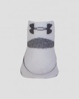 Ponožky Under Armour HeatGear 3 Pack Lo Cut YTH Bílá