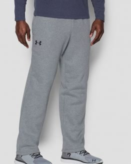 Tepláky Under Armour Storm Rival Cotton Pant Šedá