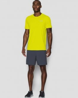 Tričko Under Armour Coolswitch Run S/S v2 Žlutá