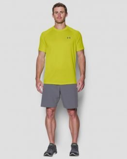 Tričko Under Armour Tech SS Tee Žlutá