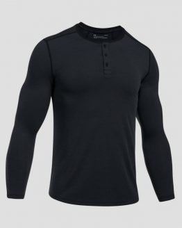 Tričko Under Armour Threadborne Ftd Knt Henly Černá