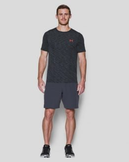 Tričko Under Armour Threadborne Seamless SS Šedá