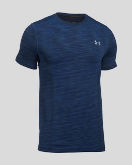 Tričko Under Armour Threadborne Seamless SS Modrá