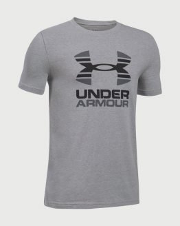 Tričko Under Armour Two Tone Logo SS T Šedá