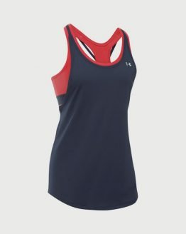 Tílko Under Armour Heatgear 2-in-1 Tank Modrá